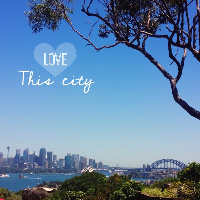 Love this city sydney