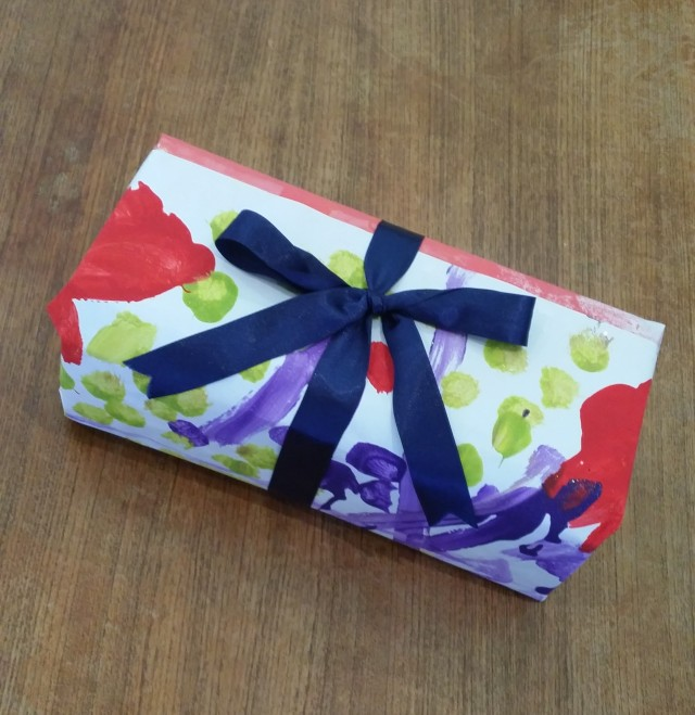 art wrapping paper