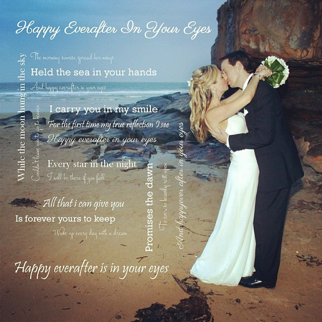 Lyrics to 'Happy Ever After In Your Eyes' - Ben Harper {my walking down the isle song}
